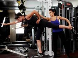 Actress Workout At Gym