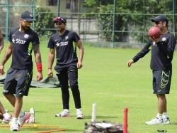 India Practice Pictures Full Fun Ms Dhoni Virat Kohli Suresh Raina