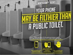 Things That Are Cleaner Than Your Smartphone
