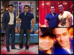 Photos Salman Khan Shoots Comedy Nights With Kapil