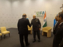 Pm Narendra Modi Pakistan Pm Nawaz Sharif A Bilateral Meet Ufa