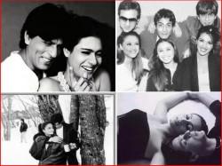 Unseen Pics Shahrukh Khan With Aishwarya Kajol Priyanka