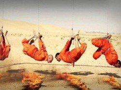 Shia Fighter Have Been Burned Alive Isis