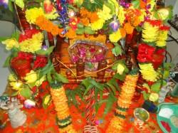 Janmashtami Celebration At Devotees Home