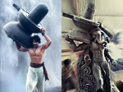 Prabhas To Take Blessing From Baahubali Inspired Ganesh Idols 027076 Pg