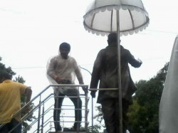 Hardik Patel Detained In Surat Before Ekta Yatra
