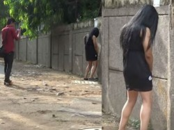 Watch Video What Happens When A Woman Pees In Public