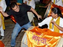 Pics Salman Khan Says Bye Bye Ganpati Bappa