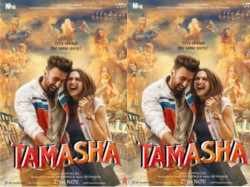 Tamasha First Poster Ranbir Kapoor Deepika Padukone Imtiaz Ali