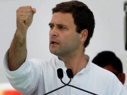 Rahul Gandhi Leaves Us Attend Global Meet