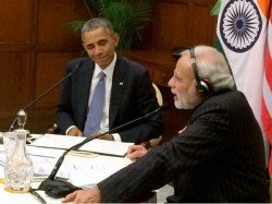 What These Pics Of One Last Year Tell About Pm Modi Us President Obama 027317 Pg