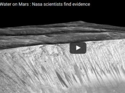 Water On Mars Nasa Scientists Find Evidence