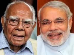 Pm Narendra Modi Cheated The People Must Be Punished Ram Jethmalani