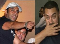 Salman Khan Aamir Khan Indulge In Ugly Spat