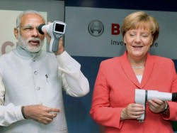 National Indian Investors Are Welcomed In Germany Says Merkel 027465 Pg