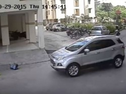 Miracle Car Driver Crushed 4 Year Old Child But The Boy Survive
