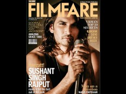 Sushant Singh Rajput Filmfare Cover Photoshoot