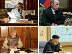 How The Most Powerful World Leaders Work Their Offices