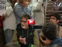 Amitabh Bachchan Takes Local Train Ride Mumbai