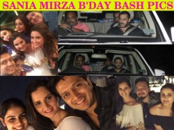 Salman Parineeti Riteish Genelia Farah Other Celebs At Sania Mirza Birthday