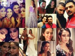 Shahid Mira Ranveer Alia Kangana Other Celebs At Masaba Sangeet Ceremony