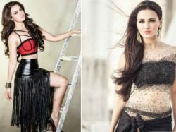 Sana Khan Poses Fhm Magazine