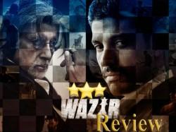 Wazir Film Review In Gujarati Amitabh Bachchan Farhan Akhtar