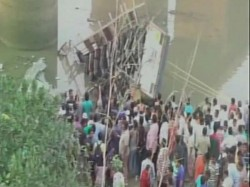 Gujarat Navsari Bus Falls In River 40 Killed