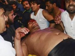 Wrestler Great Khali Injured During Sporting Event