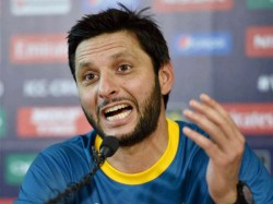 Shahid Afridi In The Controversy Over His Statement On Kashmir