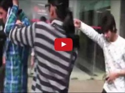 Girl Beating Boyfriend Publicly Cheating On Her Video Goes Viral