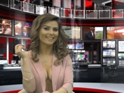 Albanian News Anchors Go Topless To Boost Audience