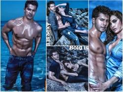 Varun Dhawan S Hottest Photoshoot Till Date
