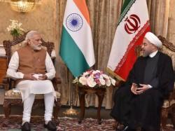 Pm Modi Accorded Ceremonial Welcome Iran