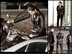 Deepika Padukone Flaunts Her Sculpted Body A Tight Black Out