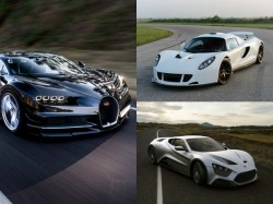 Top 10 Fastest Cars The World
