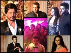 Celebrity At Bipasha Basu Karan Singh Grover Reception Party