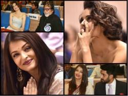 Aishwarya Rai Bachchan Kangana Ranaut From The National Awards 029086 Pg