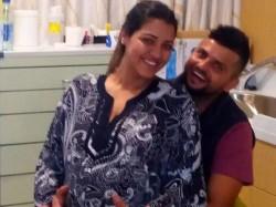 Team India Star Batsman Suresh Raina Become Father A Baby Girl