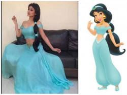Gorgeous Mouni Roy Turns Disney Princess Looks Every Bit