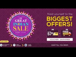 Biggest Offers Get Upto 57 Off Plus Free Shipping