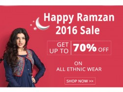 Get 70 Discount On Ethnic Wear Jewellery Beauty Products