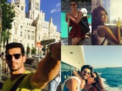 Snapped Mouni Drashti Surbhi Tv Stars Holidaying Foreign 029490 Pg
