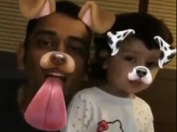 Ms Dhoni Posts Funny Video With Daughter Ziva