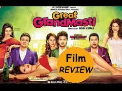 Great Grand Masti Movie Review In Gujarati