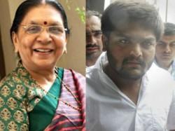 What Coincident Today Both Hardik Patel Anandiben Is Surat
