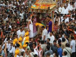 Rath Yatra Started Cm Anandiben Patel Do Pahind Vidhi