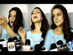 Ameesha Patel Turns Tantrum Queen At Bhaiyyaji Superhit Promotions