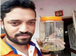 Man Clicks Selfie With Cobra Fined By Forest Department Rs