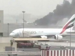 Emirates Flight Crash Lands At Dubai Airport Passengers Saf